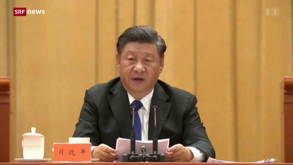 Aus dem Archiv: Xi Jinping will «Wiedervereinigung» mit Taiwan