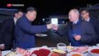Video «Putin spricht mit Xi Jinping» abspielen