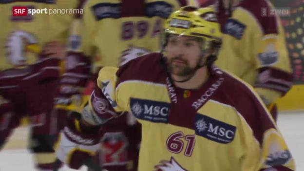 Video «Eishockey: Davos-Genf» abspielen