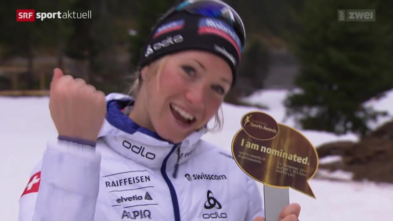 Biathlon: Elisa Gasparin als «Newcomer des Jahres» nominiert