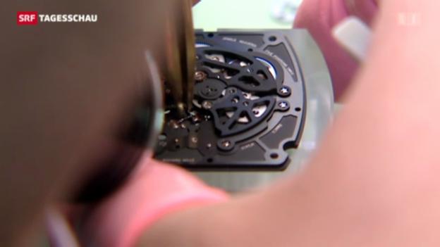 Video «Uhrenindustrie verlässt Economiesuisse» abspielen