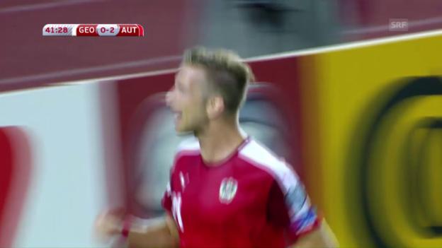 Video «Österreich gewinnt in Georgien» abspielen