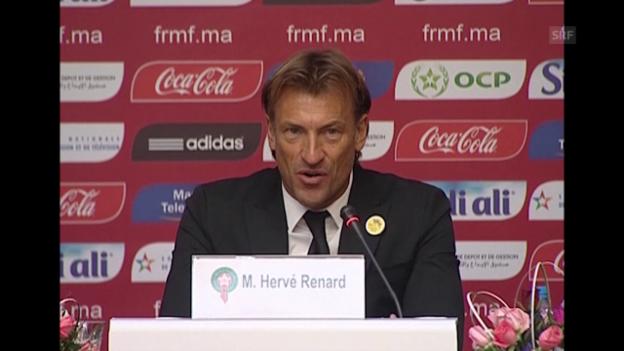 Video «Renard: Afrika-Cup gewinnen und an die WM (frz., SNTV)» abspielen