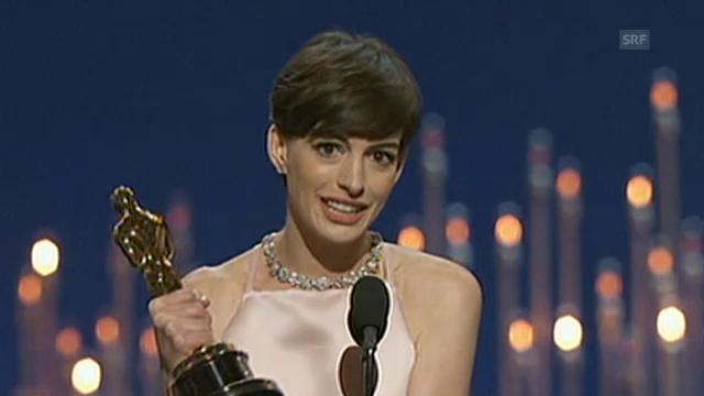 Oscar-Rede von Anne Hathaway (beste Nebenrolle)