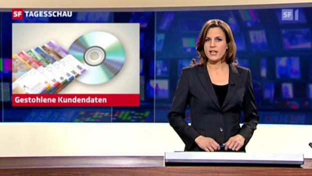 Video «Auch Schweizer Steuerfahnder arbeiten mit gestohlenen Kundendaten» abspielen