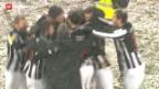 Video «FC Wil gewinnt gegen Young Boys» abspielen