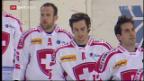 Video «Schweizer Hockey-Nati schlägt Weissrussland» abspielen