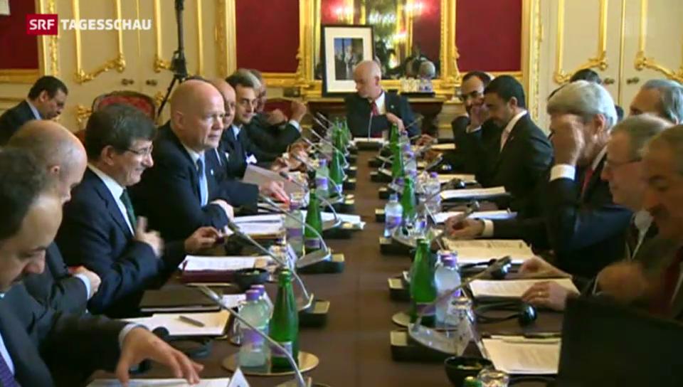 Vorbereitungen für Syrien-Friedenskonferenz