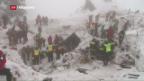 Video «Suche nach Überlebenden in Italien» abspielen