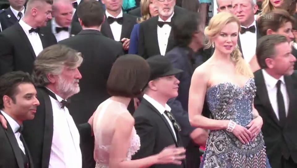 Nicole Kidmans Auftritt auf dem roten Teppich