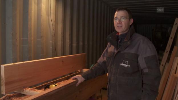 Video «Kanada: Werkstatt im Container» abspielen