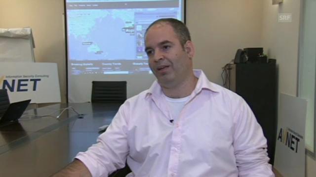 Cyber-Experte Roni Bachar zu den Angriffen (englisch)