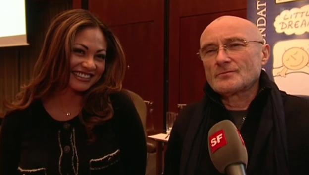 Video «Liebes-Comeback bei Phil und Orianne Collins» abspielen