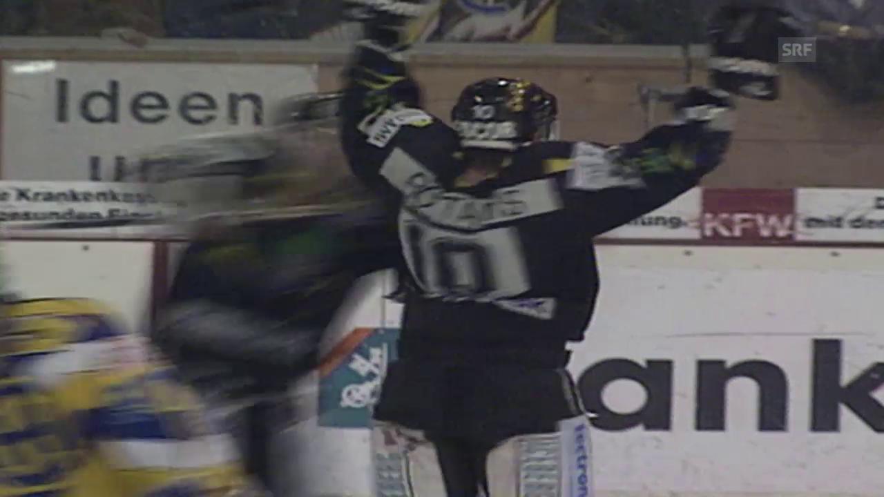 Playoff 1995: Spiel 1, Davos - Freiburg 3:4