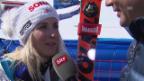 Video «Kugelgewinnerin Brem im Interview» abspielen