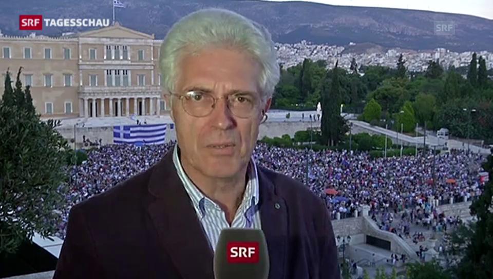 Van Gent: «Die Griechen wollen eine Einigung»