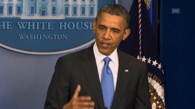 Video «Obama zu Syrien» abspielen