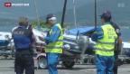Video «Flugzeugabsturz: Suche nach Wrack im Neuenburgersee» abspielen