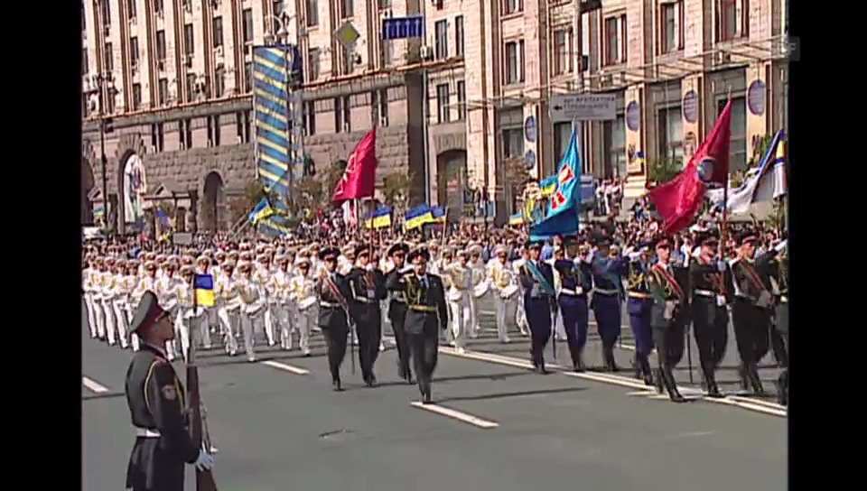 Militärparade in Kiew