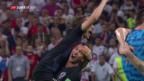 Video «Rückblick auf den 2. WM-Halbfinal Kroatien - England» abspielen