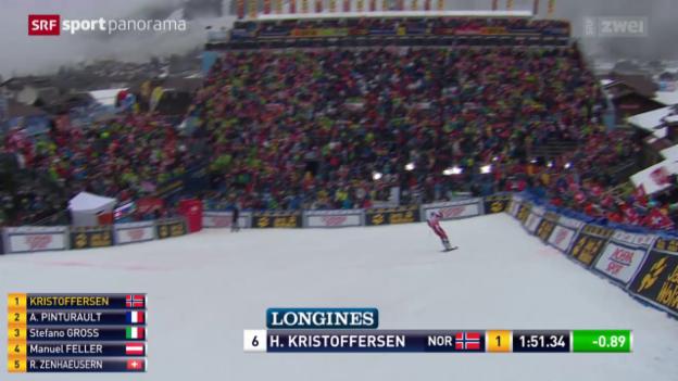 Video «Slalom-Action am «Chuenisbärgli»» abspielen