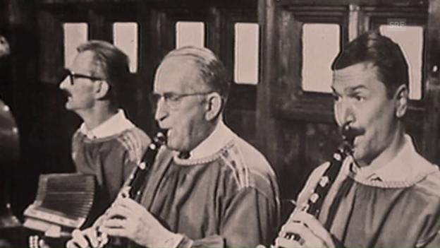 Video «Archiv: Am Baraggeball / 1966» abspielen