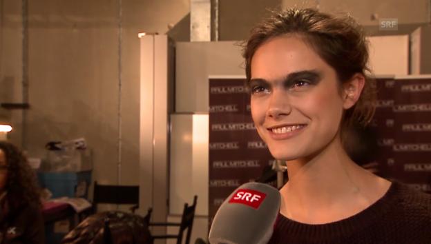 Video «Anja Leuenberger über ihre Model-Träume» abspielen