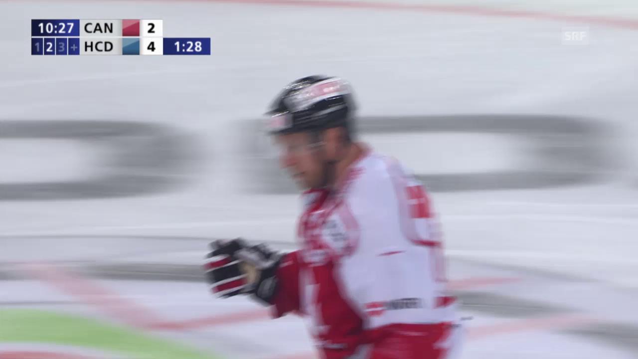 Eishockey: Spengler-Cup, Tore 2 & 3 Kanada