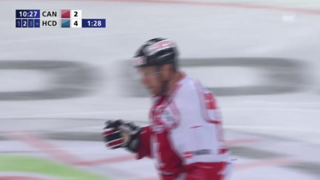 Video «Eishockey: Spengler-Cup, Tore 2 & 3 Kanada» abspielen