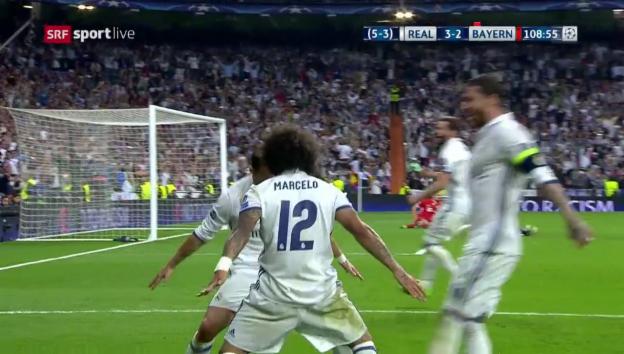 Video «Real setzt sich gegen die Bayern durch» abspielen