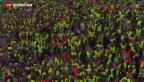 Video «Tausende französische Grenzgänger sagen «non»» abspielen