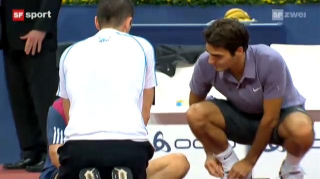 Federer meistert Starthürde locker