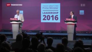 Video «Richtungsweisende Wahl bei Labour» abspielen