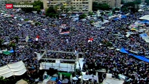 Video «Augenzeugin zur Gewalt in Kairo» abspielen