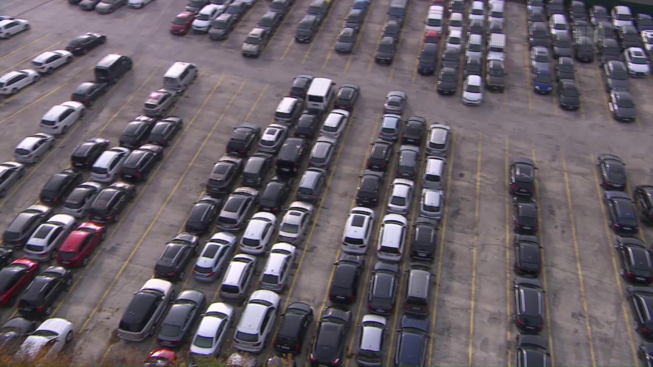 Lausiger Parkier-Service: Dellen und Dreck inklusive