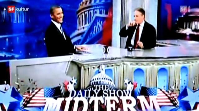 Jon Stewart und Stephen Colbert