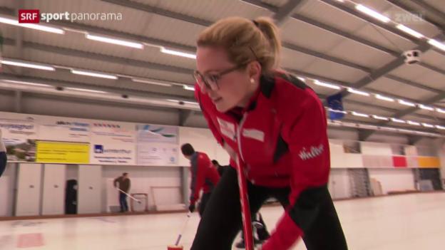 Video «Curling: Alina Pätz im Porträt» abspielen