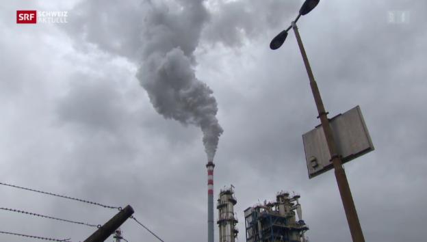 Video «Tamoil-Raffinerie: Umweltschäden befürchtet» abspielen