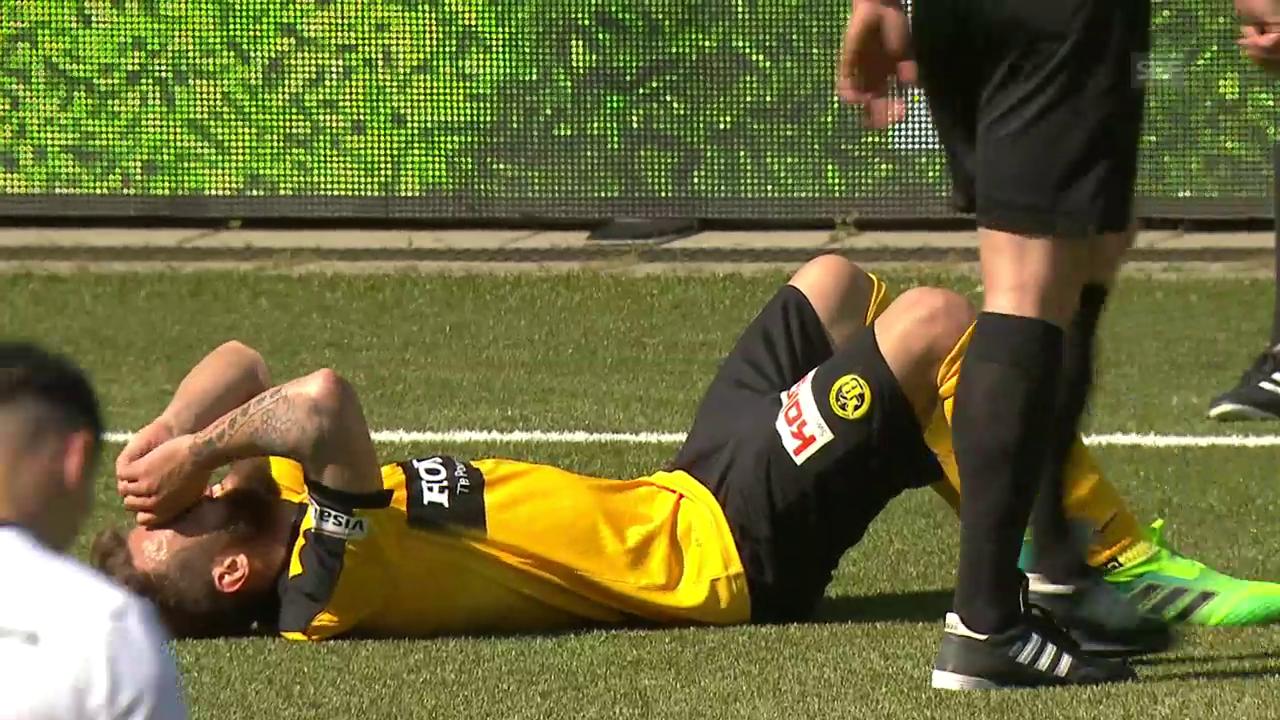 Sulejmani verletzt sich gegen den FCB