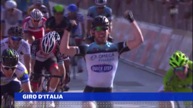 Video «Cavendish gewinnt 6. Etappe» abspielen