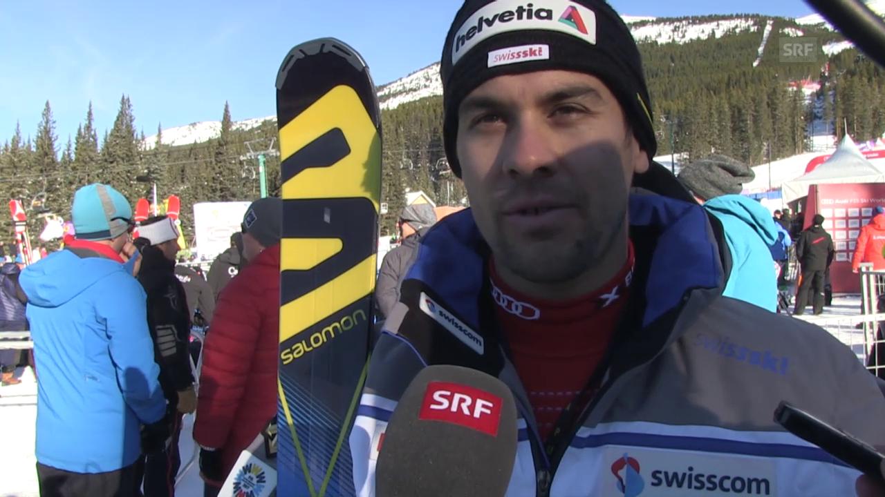 Ski: Super-G Lake Louise, Interview Viletta