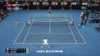 Video «Federer nimmt die Hürde Gasquet» abspielen
