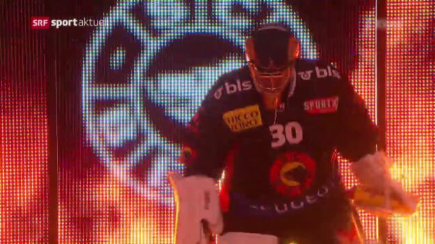 Video «Meister Bern gewinnt Derby gegen die Tigers» abspielen