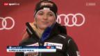 Video «Ski: Siegerehrung Super-G Frauen» abspielen