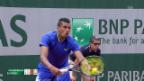 Video «Kyrgios meldet seine Ambitionen an» abspielen