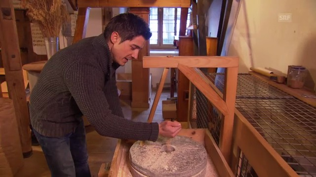 «Einstein entdeckt» ... die Mühle
