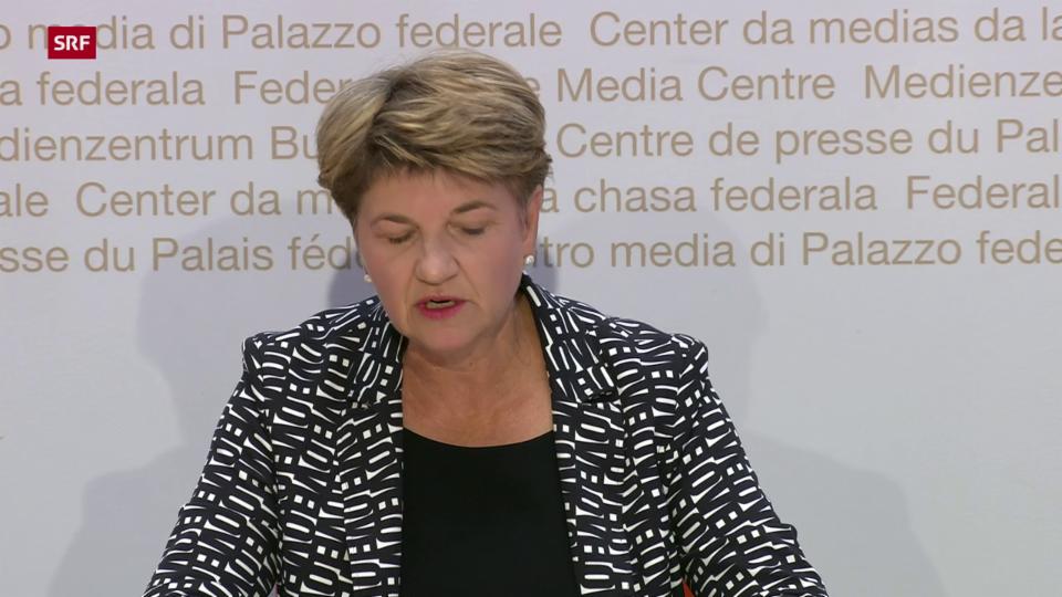 Verteidigungsministerin Amherd zur Bildung des Kommando Cyber
