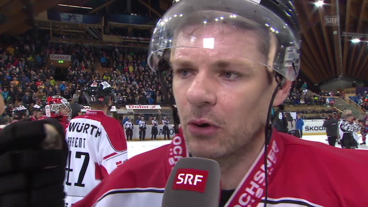 Eishockey: Spengler Cup, Interview Byron Ritchie