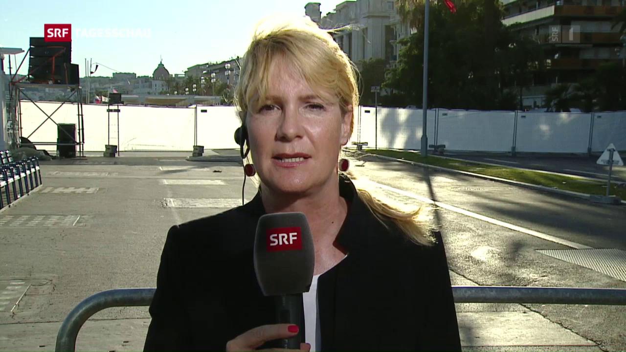 Alexandra Gubser zur Lage in Nizza