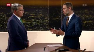 Video «FOKUS: Urs Schwaller stellt sich den Fragen von «10vor10»» abspielen